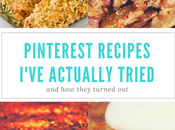 Pinterest Recipes I've Actually Tried They Turned