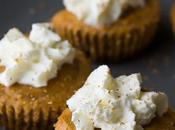 Mini Pumpkin Greek Yogurt Cheesecake