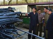 Pong Visits Hwanghae Iron Steel Complex