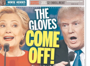 Presidential Debate Front Pages Newspapers