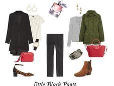 Pieces: Little Black Pants