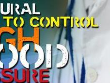 Infographic: Natural Ways Control High Blood Pressure