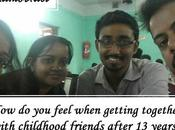 Feel When Getting Together with Childhood Friends After Years?