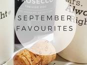 Lifestyle: September Favourites