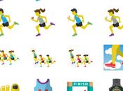 Runner Emoji Finally Here!! Thanks Fleet Feet Sports!!