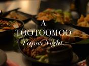 Tootoomoo's Asian Tapas Menu.