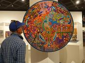 FOWLER MUSEUM, UCLA, Three Exciting Exhibits: Prints, Fiber Art, Yarn Paintings; Angeles,