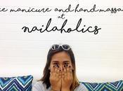 Free Manicure Hand Massage Nailaholics Oct.
