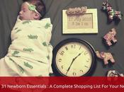 Newborn Essentials: Complete Shopping List Your