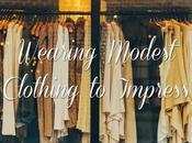Wearing Modest Clothing Impress