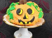 Jack O'Lantern Cake #BundtBakers