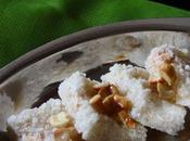 Rava Coconut Burfi Recipe Diwali Sweets