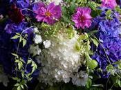 Floral Arrangements with Love Puff, Balloon Vine