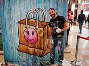Flesh Acrylic Body Painting Heine Ankamall Live Performance Shopping