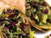 Vegan Pesto Green Burrito