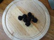 Eight Blackberries