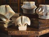 Folded Book Sculptures Paper Jewelry CRIZU