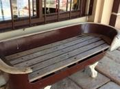 Amazing Things Repurposed Into Benches