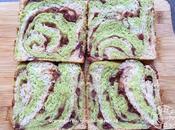 Matcha Kinako Azuki Bread