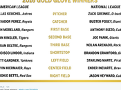 2016 Gold Glove Winners