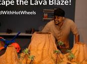 Escape Lava Blaze with Wheels! #BuildwithHotWheels