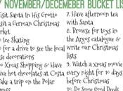 Christmas Bucket List (Plus Chance £100 Whittards)