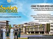 DLSZ Senior High School Open House November