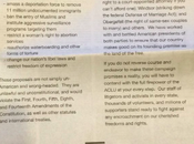ACLU's Open Letter Donald Trump