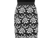 Pick Velvet Bustier Crochet Dress