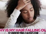 Underlying Causes Sudden Severe Hair Loss Women