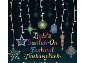 Christmas Lights Switch Fonthill Road, Finsbury Park Thursday December