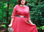 1940's Vintage Dress, Backseam Hose, Trim Booties