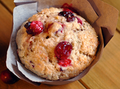 Cranberry Orange Muffins with Rosemary
