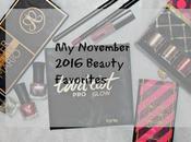November 2016 Beauty Favorites