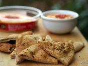Roasted Pepper Hummus Crudite #BoarsHeadHummus