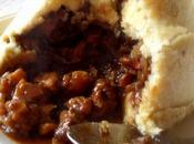 Beef, Parsnip Pudding