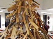 Things Recycled Into Christmas Tree