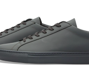 Harmony Grey: Common Projects Achilles Gummy Sneakers