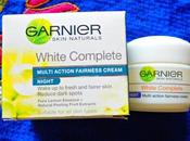 Garnier White Complete Multi Action Fairness Night Cream Review