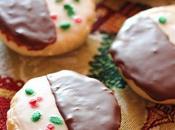 Vegan Black White Cookies