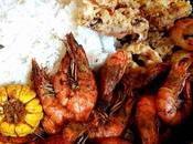 """Boodle Fight Bilao"" ""Shrimp Wednesday"" Only Nicholas Catering Restaurant"