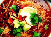 Slender Beef Black Bean Taco Soup with Winking Girl Skillet Sauce