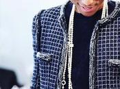 Pharrell Williams First Appear Chanel Handbag