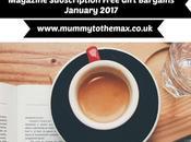Magazine Subscription Free Gift Bargains January 2017