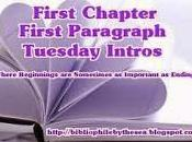First Chapter Paragraph (January