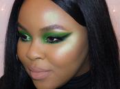 Dramatic Green Makeup Viseart Editorial Brights