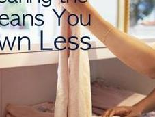 Wearing Best Means Less