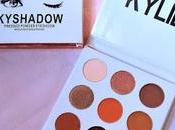 Kylie Kyshadow Bronze Palette Review, Swatches FOTD