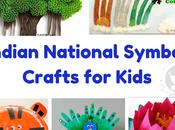 Indian National Symbol Crafts Kids
