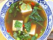 Spicy Tofu Soup #SoupSwappers